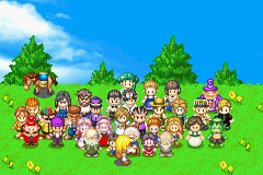 Harvest Moon - More Friends of Mineral Town - Introduction  - Villagers - User Screenshot